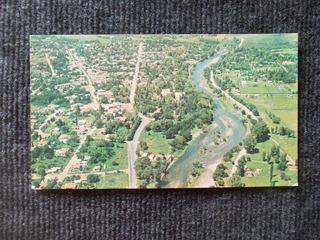 1188- Postal Santa Rosa Calamuchita Vista Panor Ciudad 1972