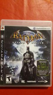 Batman Arkham Asylum Fisico Original Ps3