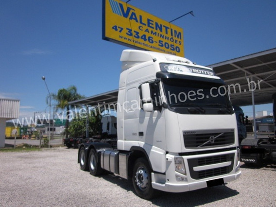 Volvo Fh 540 - Globetrotter - Traçado - 6x4 - I-shift - 2014