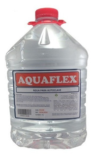 Agua Destilada 5lt Aquaflex
