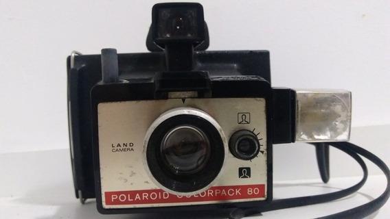Máquina Fotográfica Polaroid Colorpack 80