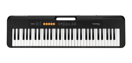 Imagen 1 de 3 de Teclado musical Casio Casiotone CT-S100 61 teclas Negro