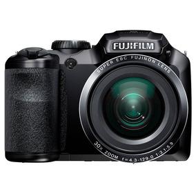 Câmera Fotografica Digital Fujifilm S4800 Preto Zoom 30x