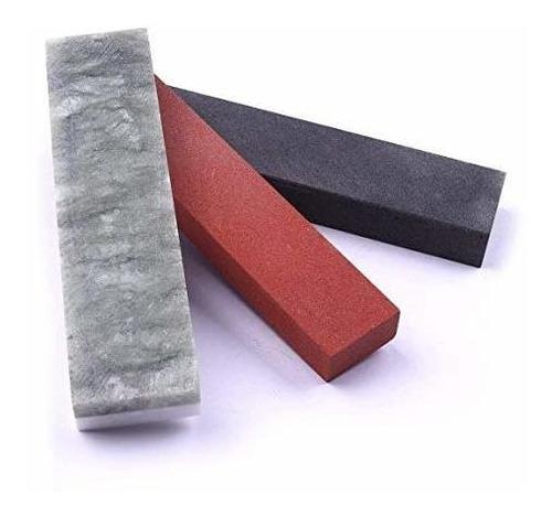 Imagen 1 de 6 de Afilar Conjunto De Piedra Cheerbright 3 Unids Afilar Y Pulir