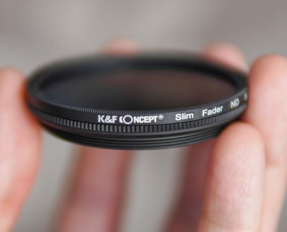 Filtro Nd Variável Nd2-400 K&f Concept 52mm Com Case