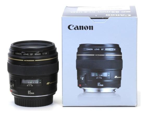 Lente Canon Ef 85mm F1.8 Usm
