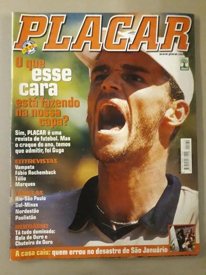 Revista Placar. Capa Com Guga Kuerten E Tabelas Dos Regionai