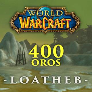 Wow Classic 400 Gold / Oro - Server Loatheb Horda / Alianza