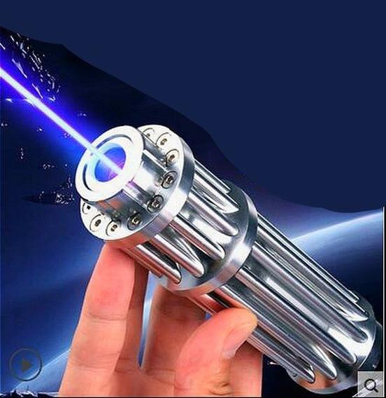 Puntero Laser Quema Azul Mejor Que Verde Mas De 4000mw Model