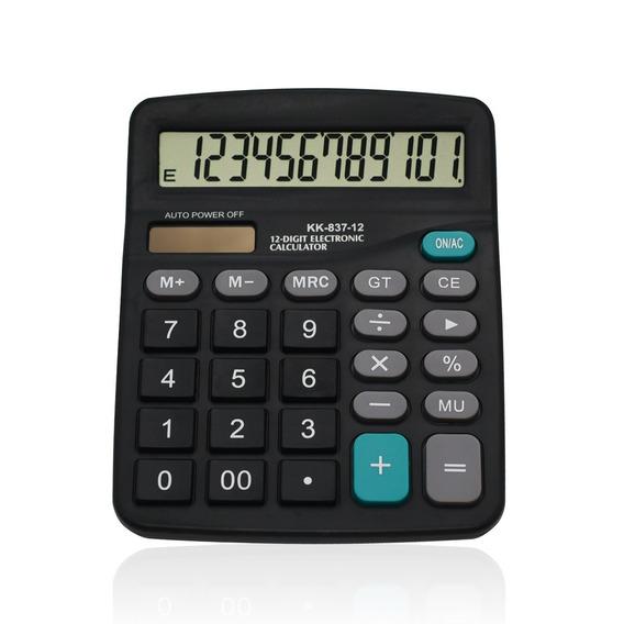 Calculadora 12 Dígitos Kk837-12