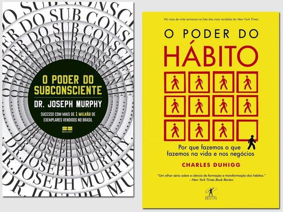 Livro O Poder Do Subconsciente + O Poder Do Habito