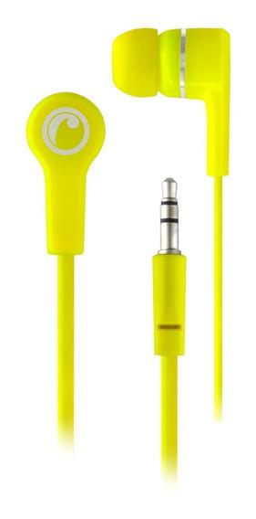 Audífonos Earbud In-ear Fiddler Flúor Verde
