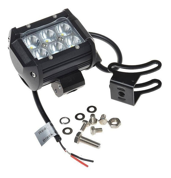 Barra Led Faro 18w 6 Leds Creed P/autos Motos En Msp