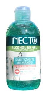 Alcohol En Gel Antibacterial Con Aloe Graduacion 70% Inecto