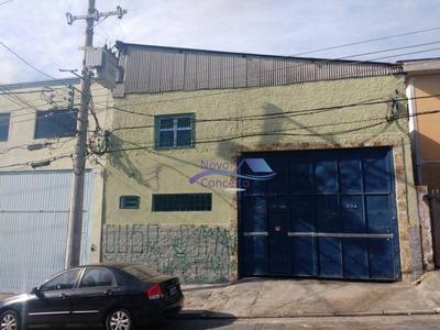 Galpão Comercial Para Locação, Vila Nova York, São Paulo. - Ga0025