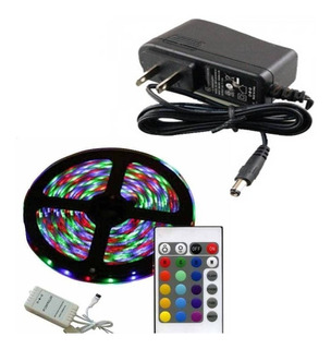 Kit Cinta Led 2538 Rollo 5m Multicolor Control 12v