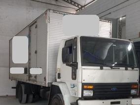 Ford Cargo 1415 Com Baú - Ano 1997