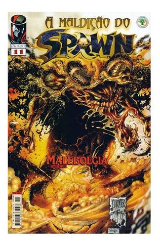 A Maldição Do Spawn 11 Gibi Abril Jovem Image Comics
