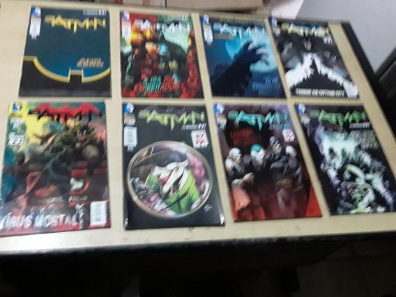 Kit Hqs Os Novos 52! Batman - 08 Volumes