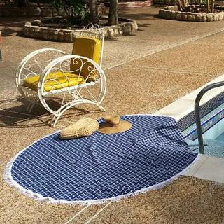 Toallas Redondas Ideales Playa, Piscina, Picnic, Yoga