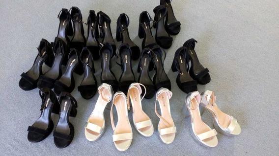 Lote De 13 Zapatos De Fiesta Nuevos Con Detalles