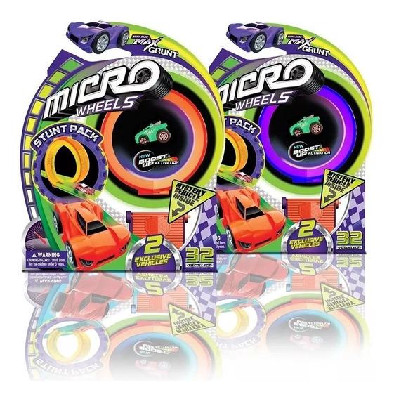 Auto Sorpresa Micro Wheels Con Pista 77734 Wabro Educando