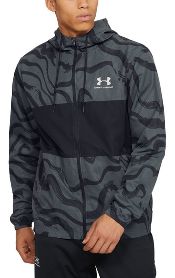 Campera Wind Fz Jacket Printed Under Armour