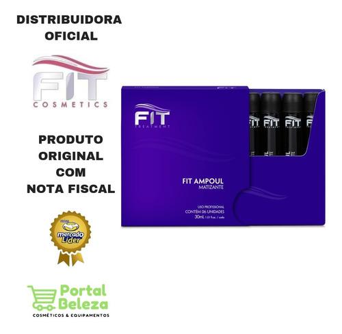 Ampolas Matizante 6 Unidades 30ml - Fit Cosmetics