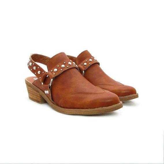 Zapatos Mujer Charritos Texanos Moda Invierno 2019 Artgz-685