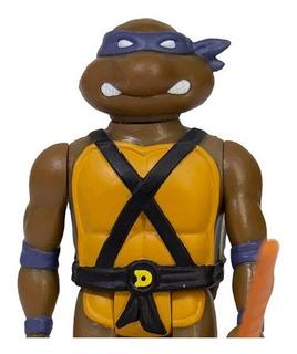 Super 7 Reaction Teenage Mutant Ninja Turtles Donatello