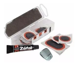 Kit Remendo Zefal Universal Vulcanizado Cola S/ Espatulas