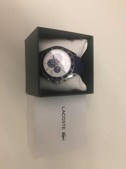 Relógio Lacoste Azul! Lindo Original!