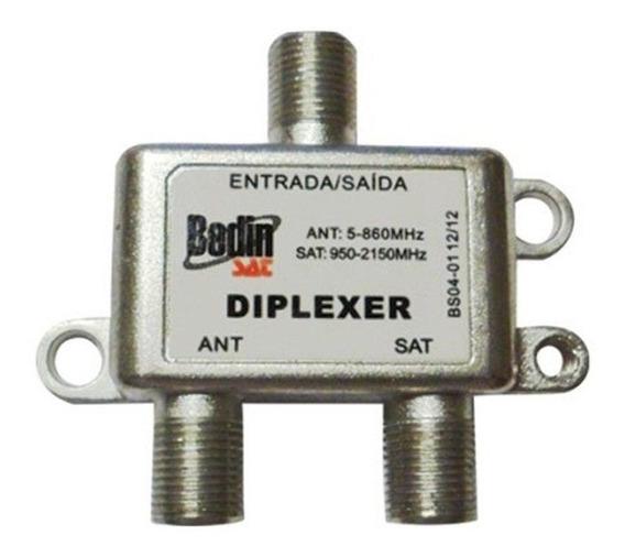 Misturador Banda C/kud Sinal Diplexer Bkubs0401 Bedin Sat