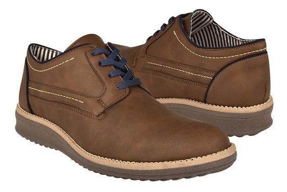 Zapatos Casuales Stylo 209 Suede Cafe