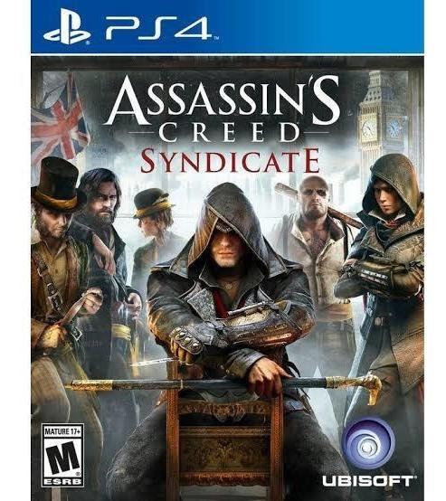 Assassins Creed Syndicate Mídia Física