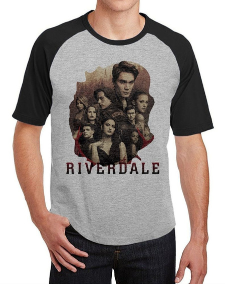 Camiseta Raglan Masculina Série Riverdale