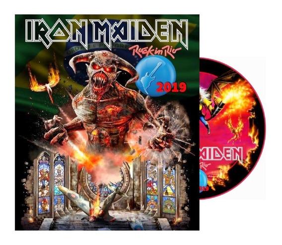 Iron Maiden Rock In Rio 2019 Dvd -
