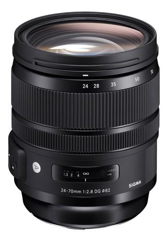 Lente Sigma 24-70mm F/2.8 Dg Os Hsm Art Nikon-canon Nuevo!!!