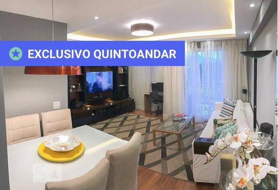 Apartamento No 12º Andar Mobiliado Com 2 Dormitórios E 1 Garagem - Id: 892946585 - 246585