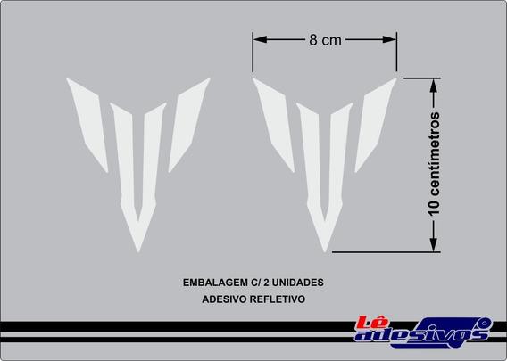 Adesivo Decorativo Mt-03 07 01 09 Refletivo Yamaha 10x8cm