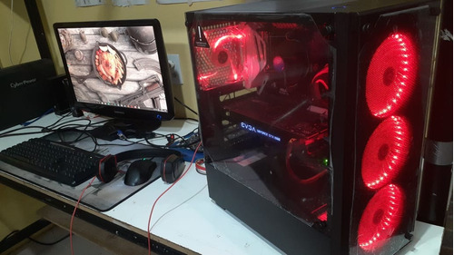 Vendido - Pc Gamer I3 7100 - Gtx 1060 - 8gb Ddr4 - Ssd 120gb