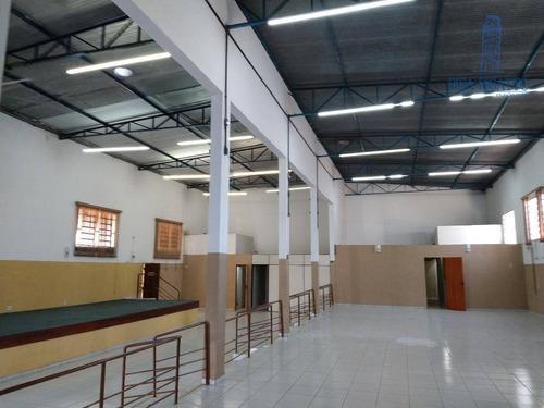 Salão Para Alugar Por R$ 7.500,00/mês - Vila José Paulino Nogueira - Paulínia/sp - Sl0225
