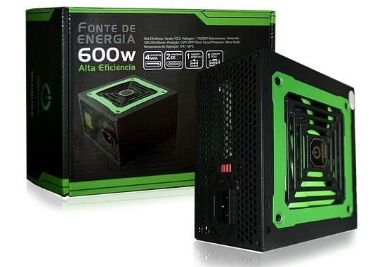 Mp600w Onepower Fonte Atx Real 600w 1248