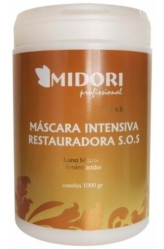 Mascara Intensiva Restauradora S.o.s 1kg - Midori