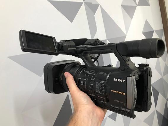 Câmera Sony Hxr Nx3 Full Hd Grava Em Sd Card