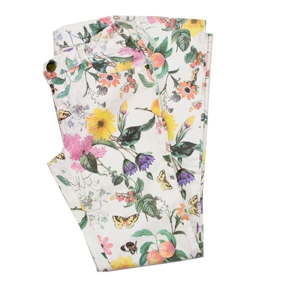 Calça Infantil Menina Hering Kids Floral C55bsr1gwe