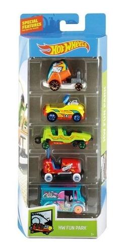 Autos Hot Wheels Pack X 5