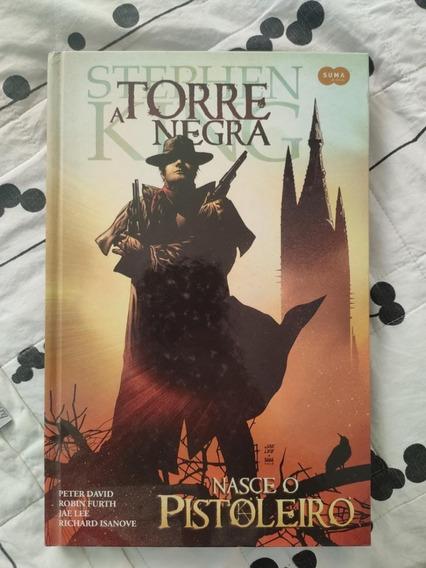 Hq - A Torre Negra Nasce O Pistoleiro Stephen King Capa Dura