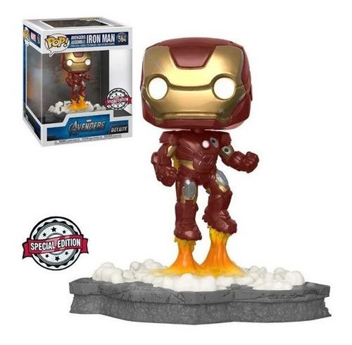 Funko Pop Iron Man  Avengers Deluxe 584 Special
