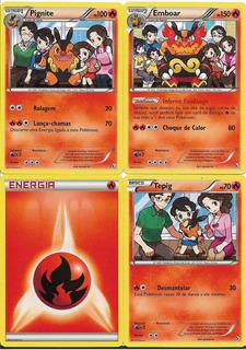 Pokemon Card Deck Case Serperior Emboar